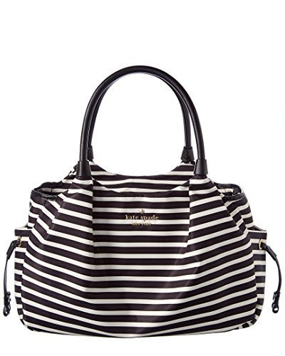 Kate Spade New York Women's Watson Lane Stevie Baby Bag Black/Clotted Cream One Size -  PXRU7668