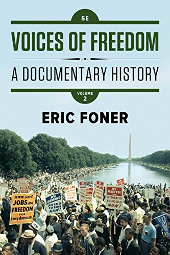 Voices of Freedom: A Documentary History (Fifth Edition)  (Vol. 2) cover
