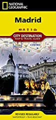 • Waterproof • Tear-Resistant • Travel Map       National Geographic's City Destination map of Madrid is both a comprehensive map and travel guide. Known for its nightlife and arts, the city has many attractions to explore virtually ar...