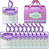 10 Packs (Upgraded Version) Reusable Lavender Scented Sachets For Drawers And Closets And Linens Clothing Closet Storage Etc, Best Gift,Fragrance Sachet,Ship from U.S Warehouse