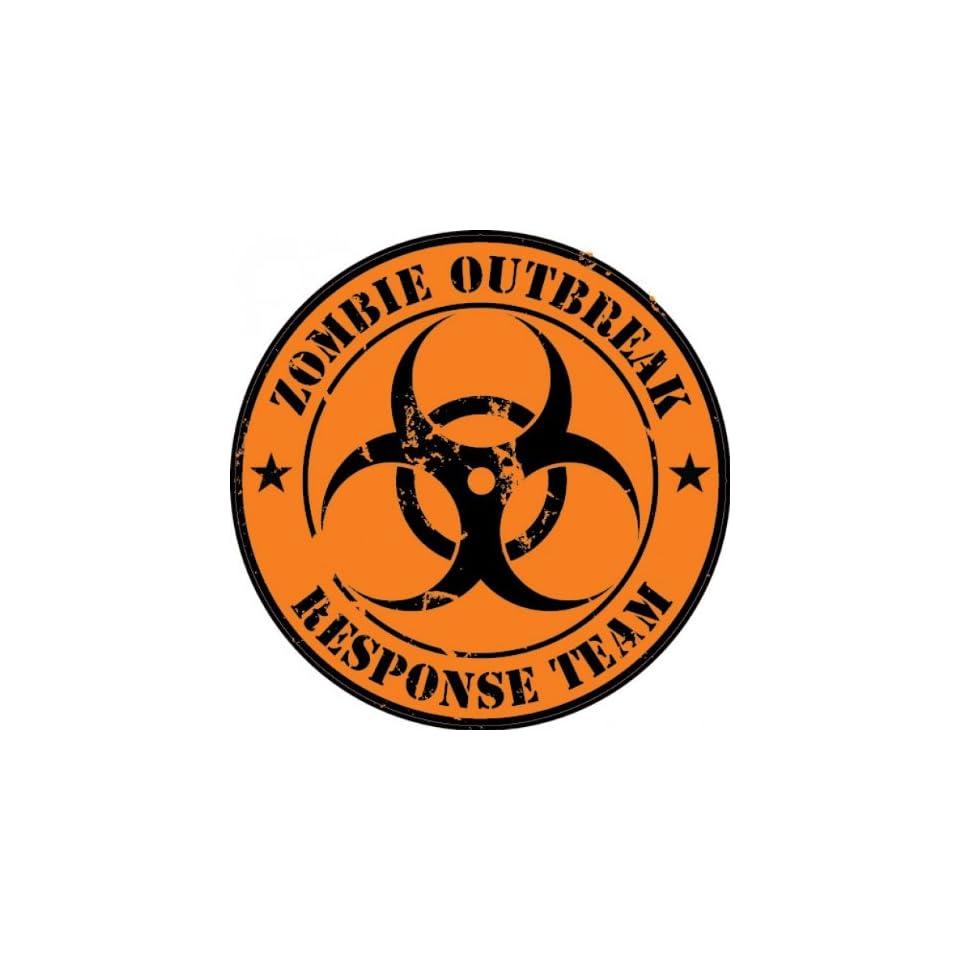 Zombie Outbreak Response Team Decal / Sticker