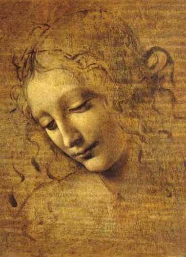Ricordi Viso di Giovane Fanciulla Leonardo da Vinci Puzzle (1000 ()