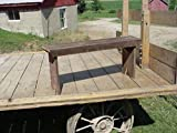 amish wood - Amish Wares Barn Wood Bench, 3-Foot, Color May Vary