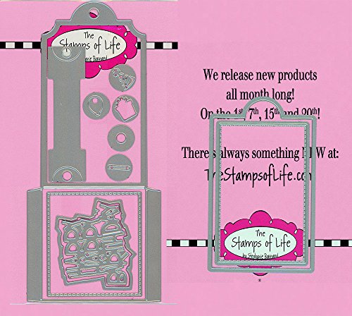 Tag Holder Die Cuts for Card-Making and Scrapbooking Supplies by The Stamps of Life - Gift Tags