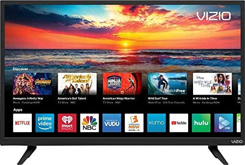 VIZIO D32H-F4 32 Inch Class HD 720P Smart LED TV (Renewed)