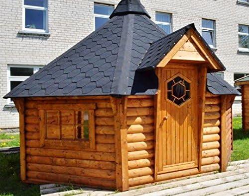 Junit GKF06901, 6, 9 m2, caseta para Barbacoa, de madera de ...