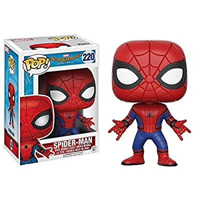 Funko POP Marvel Spider-Man Homecoming Spider-Man New Suit Action Figure: Funko Pop! Marvel:: Toys & Games