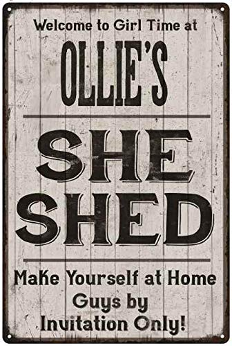 Cool Amazon Com Chico Creek Signs Ollies She Shed Sign Ibusinesslaw Wood Chair Design Ideas Ibusinesslaworg