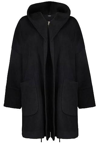 Masai Clothing - Abrigo - para mujer multicolor negro, gris