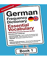 German Frequency Dictionary - Essential Vocabulary: 2500 Most Common German Words
