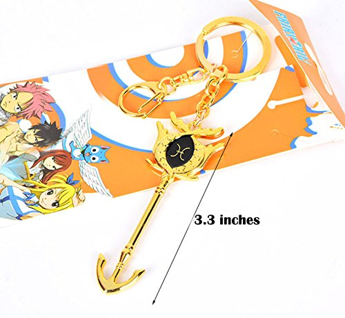 Dreamcosplay Fairy Tail Pisces Logo Pendant KeyChain Key Chain Cosplay ()