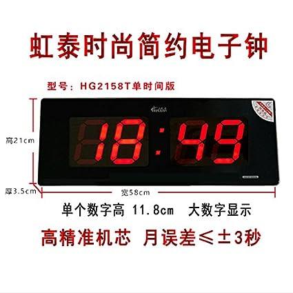 y-hui Lee tae-e-orologio Reloj de pared grande reloj digital con