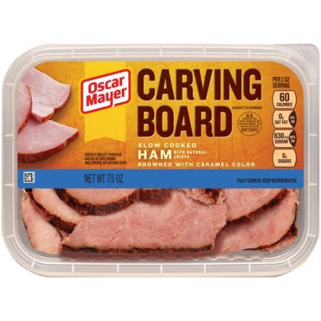 - Oscar Mayer Lunch Meat Cold CUTS Carving Board Slow Cooked HAM 7 OZ Pack of 3