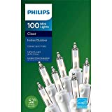 Philips Mini Lights Clear with White Wire 100ct