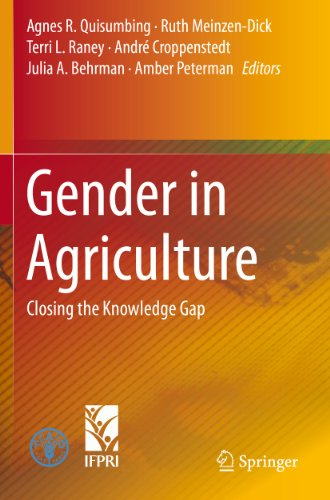 Download Gender in Agriculture: Closing the Knowledge Gap Pdf