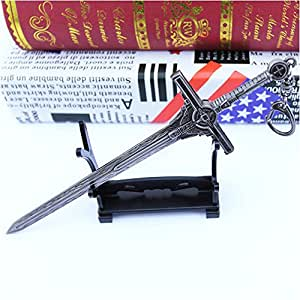 Transformers 5   Cade protagonist sword   18 cm alloy weapon key ring Halloween ,birthday Gifts For Children Kids Collection