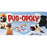 Dog Breed-Opoly PugA property-trading game that guarantees a tail-waggin' good time! Work your way around the board buying and selling pups and toys. Along the way, you'll have chances to draw Good Dog/Bad Dog cards, visit the doggie spa or t...