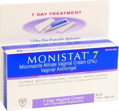 Monistat 7 Prescription Strength Vaginal Antifungal Cream -
