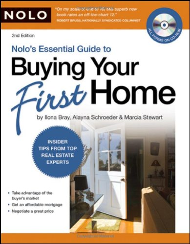 Nolo's Essential Guide to Buying Your First Home (book with CD-Rom & Audio) by Brand: NOLO