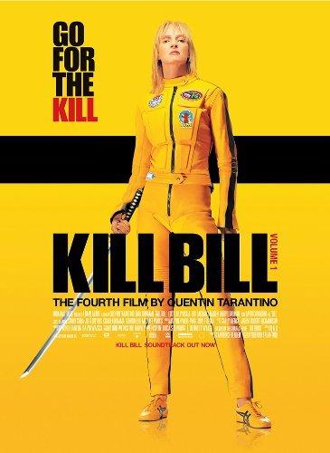 Tarantino Kill Bill Vol 1 Uma Thurman Movie Film A4 Poster / Print / Picture 260GSM Satin Photo Paper by OMG Printing (Bill Uma Thurman Photo Kill)