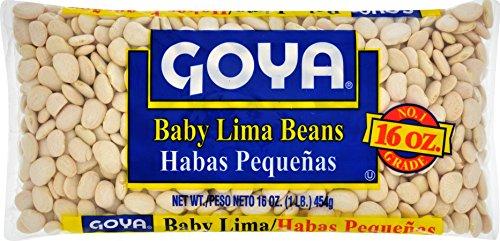 Goya Foods Baby Lima Beans, 16 oz (Beans Lima Large)
