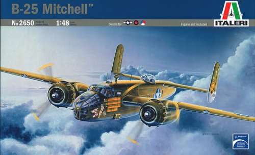 2650 1/48 B-25 Mitchell TSM6201 by Italeri