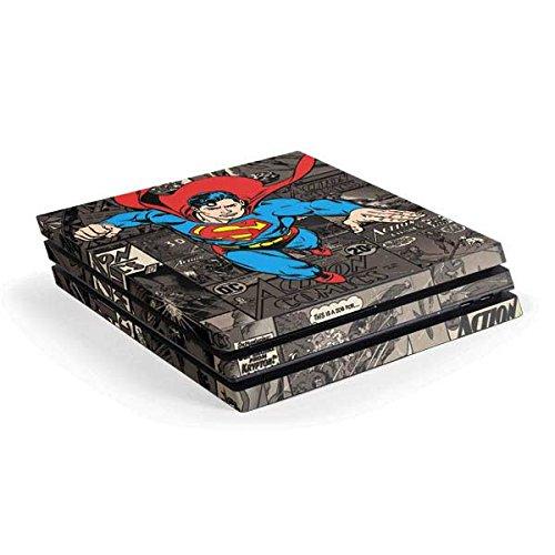 Superman PS4 Pro Console Skin - Superman Mixed Media | DC Comics X Skinit Skin