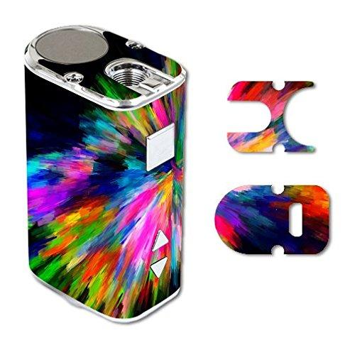 Eleaf iStick 10W Mini Vape E-Cig Mod Box Vinyl DECAL STICKER Skin Wrap / Rainbow Abstract Color Colors Splash