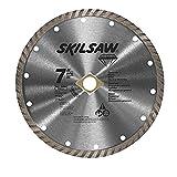 #1: SKIL 79510C 7-Inch Turbo Rim Diamond Blade (2)