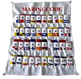 Marine Maritime Signal Flags/Flag Set - Set of 40 Flag with CASE Cover - Nautical/Maritime Boat/Ship / Vessel/Nautical Décor (5100)