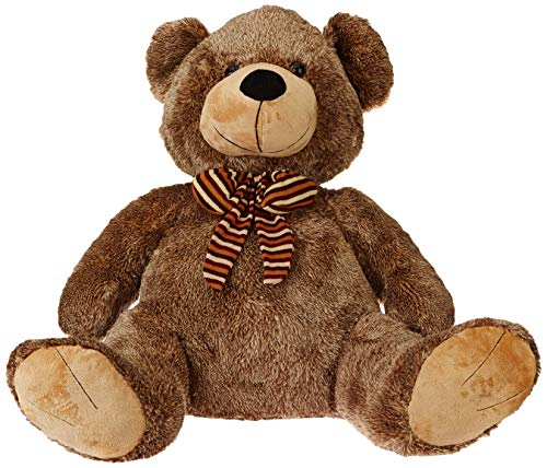 Webby Brown Soft Teddy Bear Plush Stuffed Toy, 70 cm