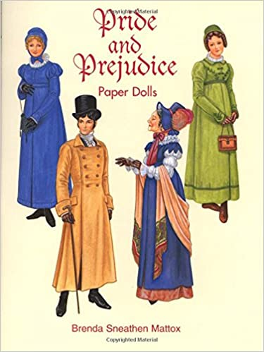 Fashions of the Regency Period Paper Dolls