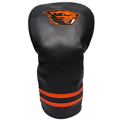 Oregon Form - Team Golf NCAA Oregon State Beavers Vintage Driver Golf Club Headcover, Form Fitting Design, Retro Design & Superb Embroidery