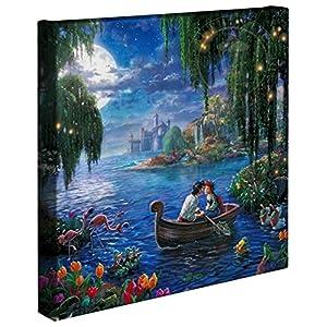 Thomas Kinkade – Gallery Wrapped Canvas , The Little Mermaid II , 14″ x 14″ , 66496