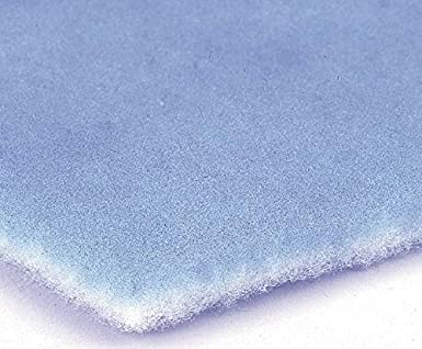 40 Pack Made in USA 24 High x 24 Wide x 2 Deep Polyester Air Filter Media Pad 35/% Capture Efficiency