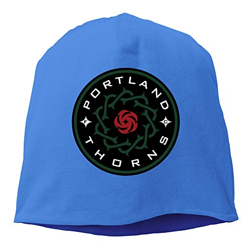 STUAOTO Portland Thorns FC NWSL Logo Beanie Cap RoyalBlue