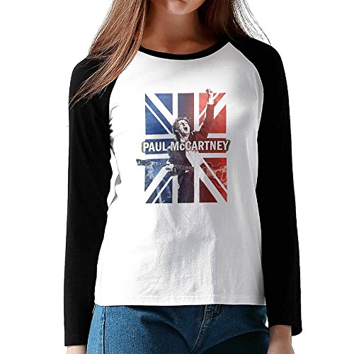 Price comparison product image Paul McCartney One On One Black For Women Long Sleeve Matching T Shirts