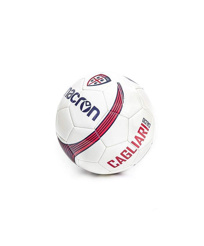 Macron Cagliari - Balón de fútbol, Color Blanco/Azul/Rojo: Amazon ...