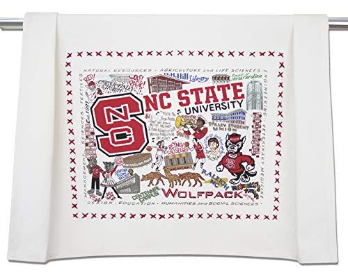 Catstudio- North Carolina State University Dish Towel, Tea Towel or Hand Towel