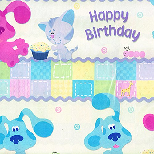 (Blue's Clues 1st Birthday Folded Gift Wrap (2 sheets, 8.33 sq. ft))
