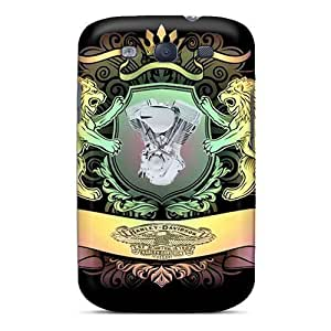 Excellent Galaxy S3 Case Tpu Cover Back Skin Protector Engine Harley