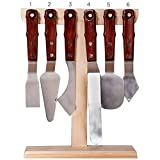Painter's Edge XL Palette Knives Set of 6 + Stand