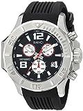 Roberto Bianci Men's RB55050 Casual Aulia Analog Black Dial Watch