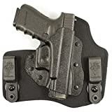 DeSantis Invader Inside The Pant Nylon Holster fits S&W Shield, Right, Black