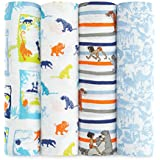 aden + anais disney swaddle 4 pack, jungle book