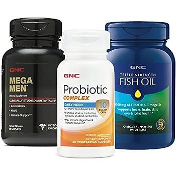 amazon   gnc amazon mens wellness bundle   product red