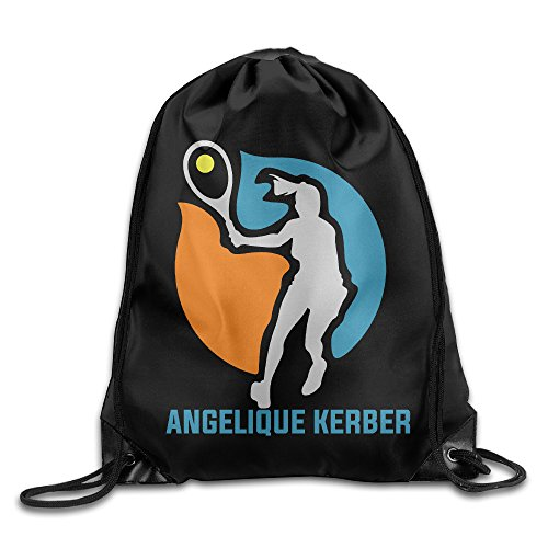 angelique-kerber-tennis-player-sport-backpack-drawstring-print-bag