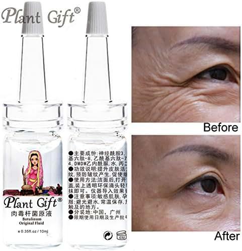Plant Gift -Botulinum Original Fluid, Quickly smooth wrinkles, tight skin, deep nourish, direct muscle bottom-10MLx2pcs 0.35oz