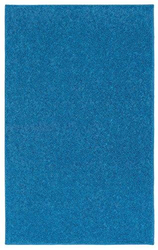 Blue Sky Rug - Nance Industries OurSpace Bright Area Rug, 5-Feet by 7-Feet, Royal Sky Blue