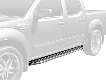 """4/"""" iBoard Running Boards Nerf Bars Fit 99-04 Nissan Frontier Crew Cab"""